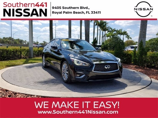 Used Infiniti Q50 Royal Palm Beach Fl
