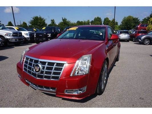 2013 Cadillac CTS Sedan Performance